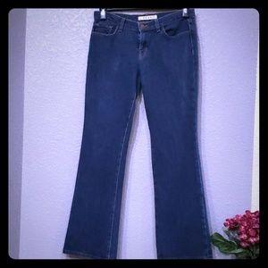 JBrand women's bootcut dark wash jeans size 28/8